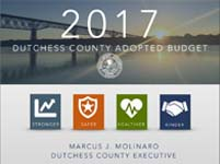 Cover Image - 2017 Dutchess County Adopted Budget