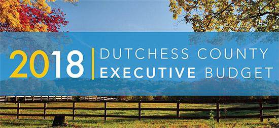 2018 Dutchess County Executive Budget Presentation Image