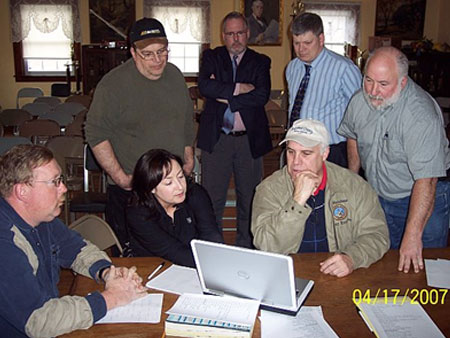 Steinhaus Meets with Town of Dover and Local Emergency Response Officials   - photo 1