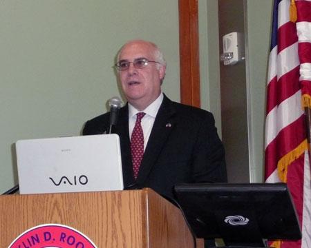 County Executive Steinhaus Addresses Dutchess County's Cancer Control Consortium  - photo 1