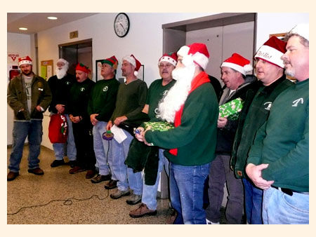 Dutchess County Employees sing holiday carols - photo 1