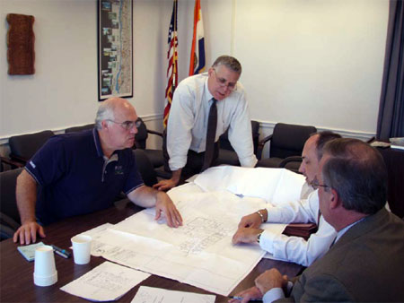 County Executive Reviews Plans for Emergency Operations Center Upgrade  - photo 1