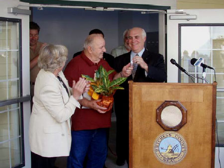 First Tenants to Red Hook Commons Welcomed by County Executive Steinhaus - photo 1