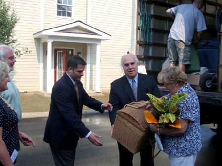 First Tenants to Red Hook Commons Welcomed by County Executive Steinhaus - photo 3