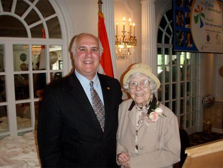 County Executive Steinhaus Honors Seniors - photo 1