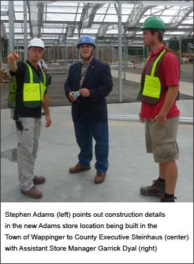 Steinhaus tours new Adams store image