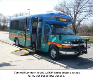 Medium duty LOOP hybrid bus image
