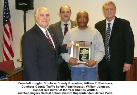 2011 School Bus Driver of the Year Award image
