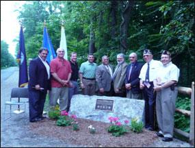 Veterans Memorial Mile Dedication
