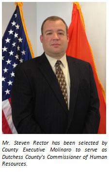 Steven J. Rector, Commissioner of HR image