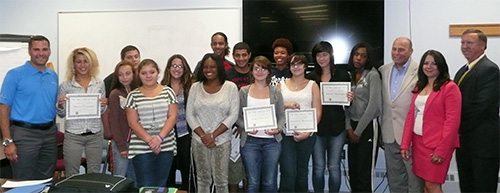 "DCFS ""Computer Zone"" 2013 Graduation image"