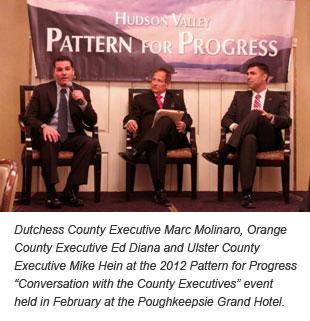County Executives Molinaro, Diana and Hein