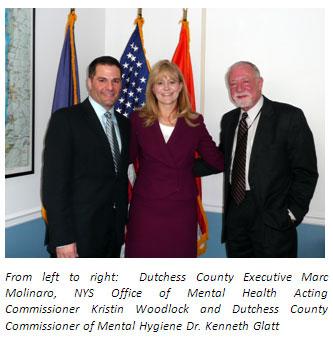 Marc Molinaro, Kristin Woodlock, Dr. Kenneth Glatt image