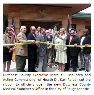 Opening of new Medical Examiner Office image