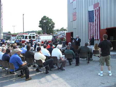 Ribbon Cutting Ceremony at New Fire Training Facility in Dutchess - photo 3