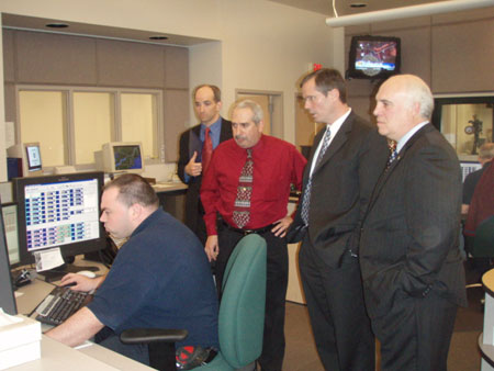 County Executive Hosting Tour of 9-1-1 Dispatch Center - photo 1