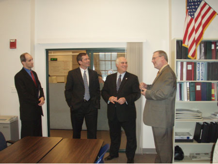 County Executive Hosting Tour of 9-1-1 Dispatch Center - photo 2