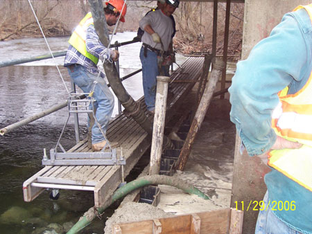 Emergency Bridge Repair Completed  - Photographs - photo 1
