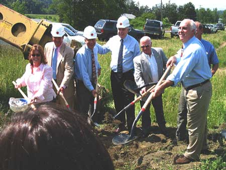 Rail Trail Extension Groundbreaking - photo 1
