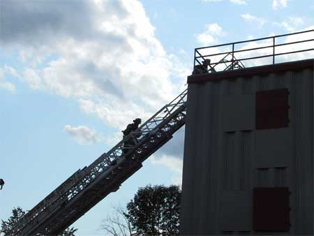 Ribbon Cutting Ceremony at New Fire Training Facility in Dutchess - photo 2