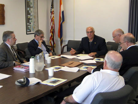 Dutchess County Executive Discusses Proposed Fare Increase with Metro North Officials - photo 1