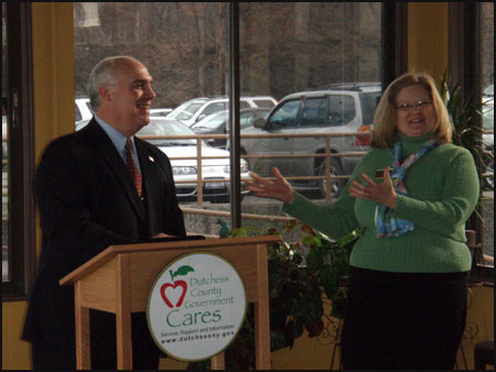 County Executive Steinhaus Addressing Rhinebeck Chamber of Commerce - photo 1
