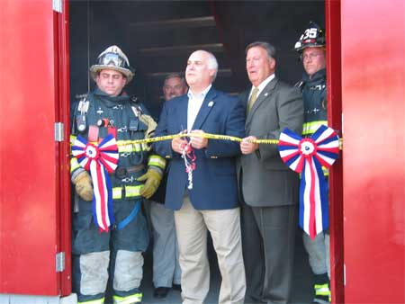 Ribbon Cutting Ceremony at New Fire Training Facility in Dutchess - photo 1