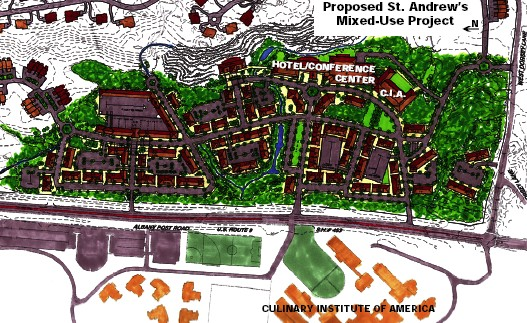 Proposed St. Andrew's Mixed Use Project graphic