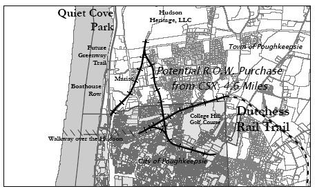 Quiet Cove Park area map