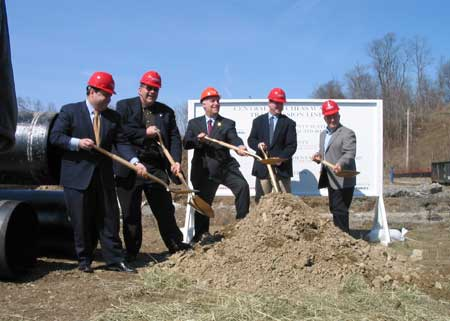 Central Dutchess Water Transmission Line (CDWTL) Project Ground Breaking Ceremony  - photo 1