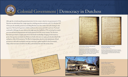 Colonial Government - Democracy in Dutchess County image