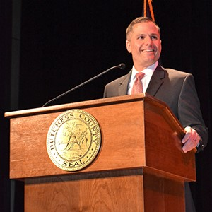 County Executive Marcus Molinaro delivers the 2018 State of the County