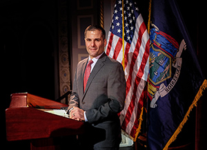 Dutchess County Executive Marcus J. Molinaro