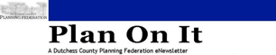 Plan On It Newsletter Logo