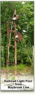 Original Light Post from Maybrook Railroad Line