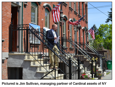 Pictured is Jim Sullivan, managing partner of Cardinal assets of NY