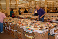 Public library used book sale