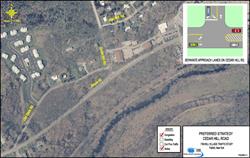Fishkill Traffic Analysis Cedar Hill Road Map