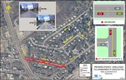 Fishkill Traffic Analysis Rapalje Rd Map