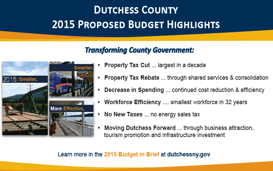 2015 Proposed Budget Highlights