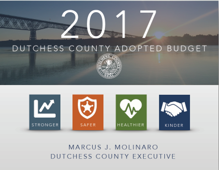 2017 Budget cover page