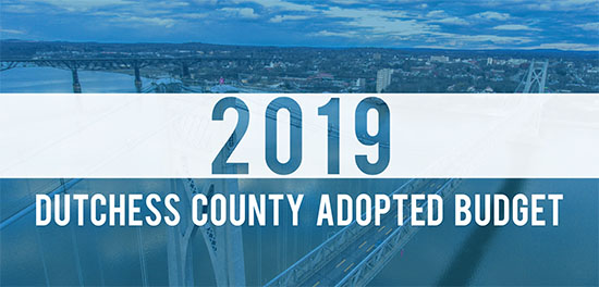 2019 Dutchess County Adopted Budget graphic