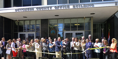 Dutchess County Clerk Bradford H. Kendall commemorates the 300th anniversary of the Dutchess County Clerk's Office.