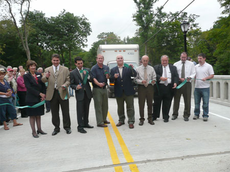 Ribbon Cutting to Open the Dog Tail Corners Road Bridge in the Town of Dover - photo 1