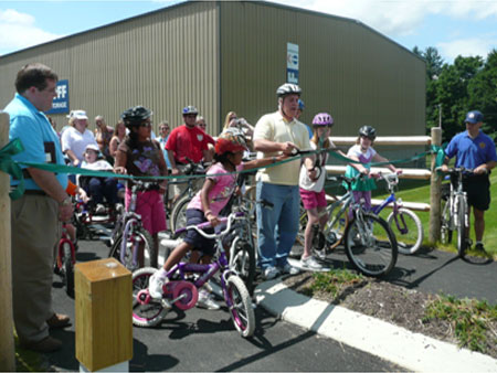 Celebrating Rail Trail Phase II Opening - photo 1