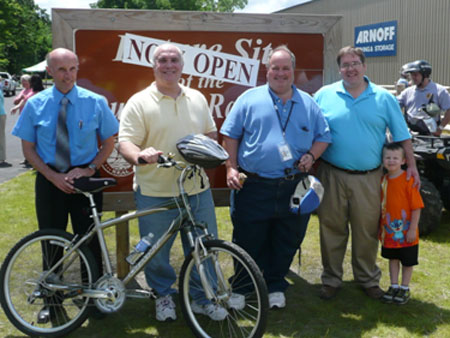 Celebrating Rail Trail Phase II Opening - photo 2