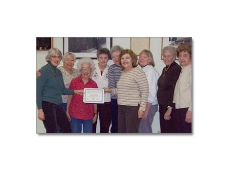 Volunteers to Senior Exercise Program Honored - photo 1