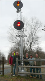 RR Signal at N Grand Ave on DRT image