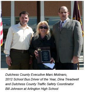 County Executive Marc Molinaro, Dina Treadwell and Bill Johnson