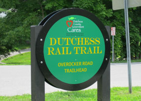Dutchess Rail Trail Sign